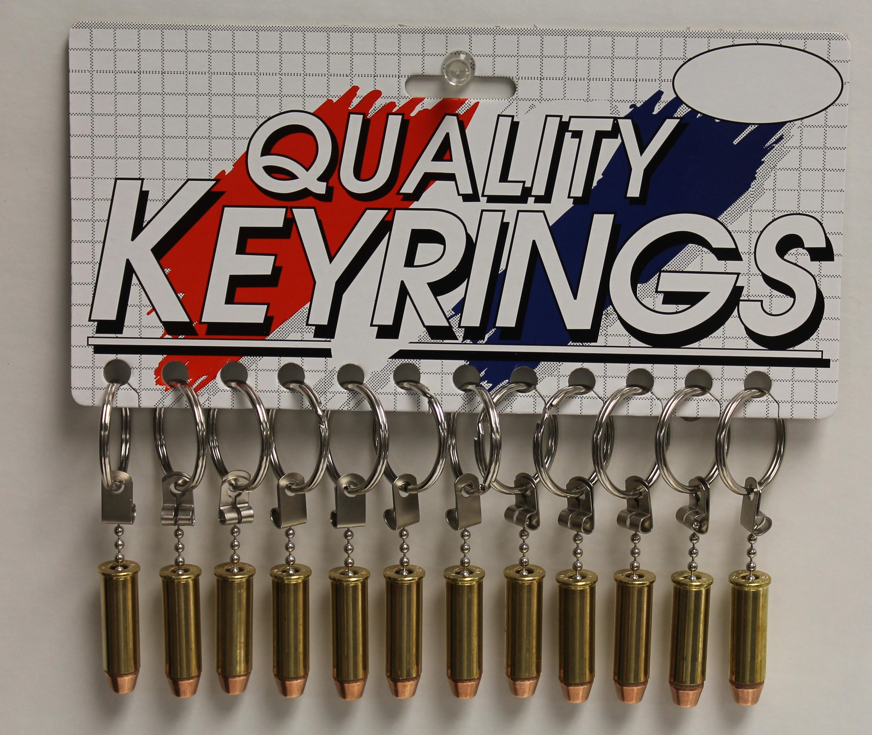 Bullet Key Tag - 44 Magnum - 12/Card