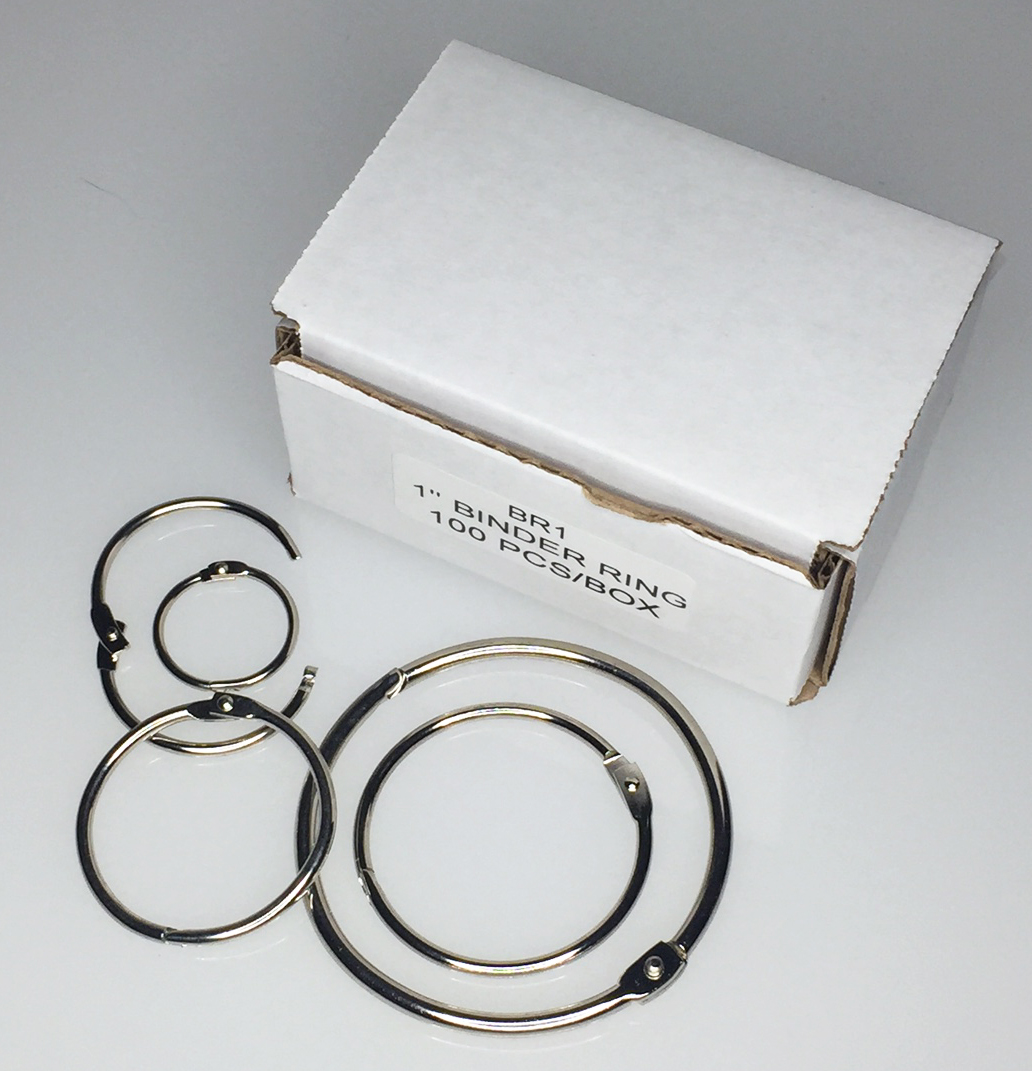 Boxed Binder Rings
