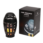 LED Flame Lamp w/Bluetooth Speaker