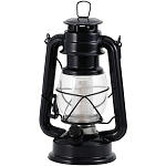 Dimmable LED Lantern w/12 LED Lights - Black