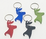 Deer Bottle Opener Key Tag - Bulk