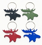 Moose Head Bottle Opener Key Tag - Bulk