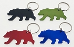 Large Bear Bottle Opener Key Tag - Bulk