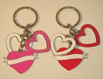Dangling Heart Key Tag - Bulk