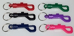 Plastic Key Clip w/Split Ring - 100/Bag