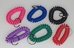 Wrist Coil w/Split Ring - Regular Colors - Bulk