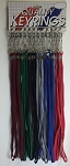 Wide Lanyard w/Split Ring - 24/Card