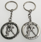 Zodiac Key Tag - Aquarius