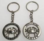Zodiac Key Tag - Cancer