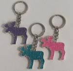 Bling Moose Key Tag - Bulk