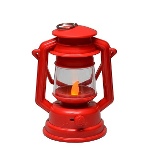 Flickering Lantern - Red