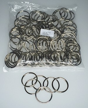 "Split Rings - 1 1/8"" - 100/Bag"