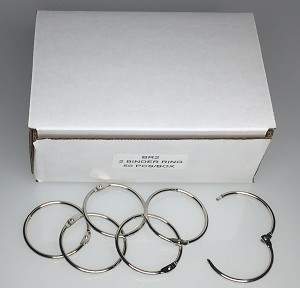 "Binder Rings - 2"" - 50/Box"