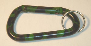 Camouflage Carabiner - Hunting Pattern - Bulk