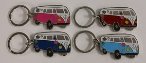 Hippy Van Key Tag - Bulk