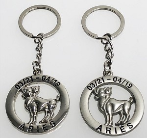 Zodiac Key Tag - Aries