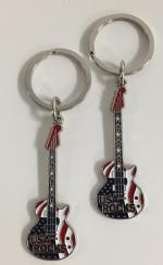 Patriotic Guitar Key Tag - Bulk